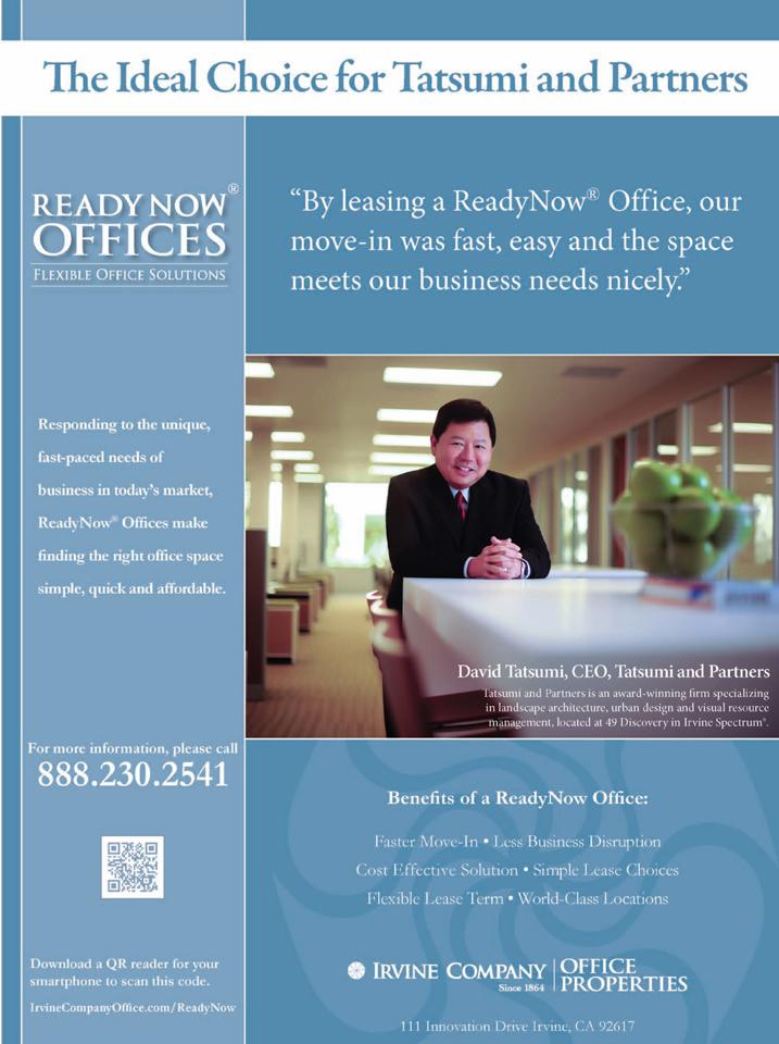 Corporate Business Executive Editorial Photo Shoot- Irvine Company, David Tatsumi, CEO, Tatsumi and Partners, Inc.