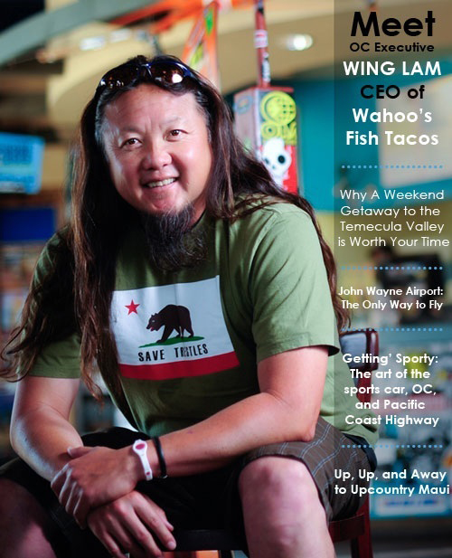 Corporate Business Executive Editorial Photo Shoot - Wing Lam, CEO & Founder, Wahoo's Fish Tacos