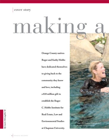 Corporate Business Executive Editorial Photo Shoot - Chapman University, Pinnacle Magazine, Roger Hobbs, Hobbs Institute