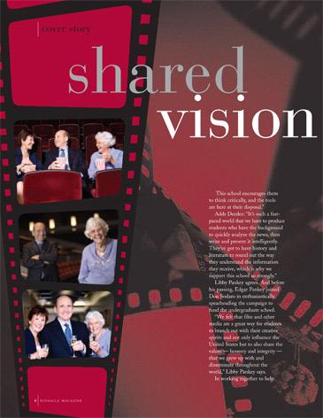 California Executive Editorial Photo Shoot - Chapman University, Pinnacle Magazine, Marion Knott, Don Sadero
