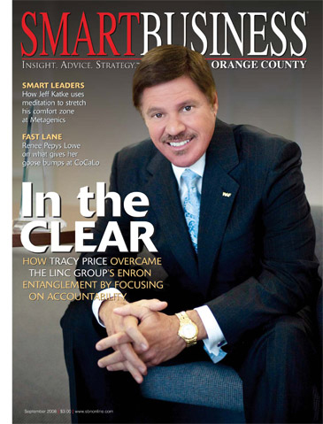 Corporate Executive Editorial Photo Shoot- Tracy Price, CEO, The Linc Group, Smart Business Magazine