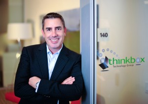 Corporate Executive Portrait - Irvine Company, James Cole, CEO, Thinkbox