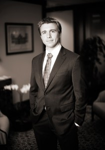 Corporate Business Executive Portrait - Attorney, Call and Jensen