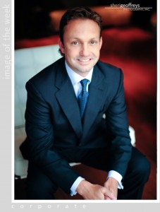 Corporate Business Executive Portrait - Christopher Brunner, VP, Mobile & Interactive Services, Univision Interactive Media