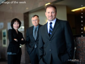 Corporate Business Executive Group Photo Shoot - Glenn Stearns, CEO, Stearns Financial