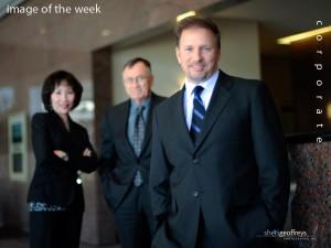 Corporate Business Executive Group Photo Shoot - Glenn Stearns, CEO, Stearns Financial