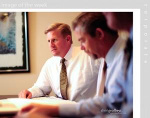 Corporate Executive Group Photo Shoot - Mark Zimmerman, CEO, KZ Dev Co