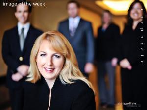Corporate Executive Group Photo Shoot - Shelley Hoss, President, OCCF, Orange County Community Foundation