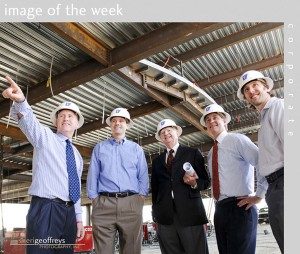 Corporate Executive Group Photo Shoot - Parker Properties