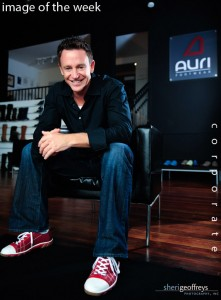 Corporate Executive Portrait - Ori Rosenbaum, President & CEO, Auri Footwear