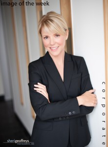 Corporate Business Executive Portrait - Kimberly Capwell, CEO, Capwell Communications