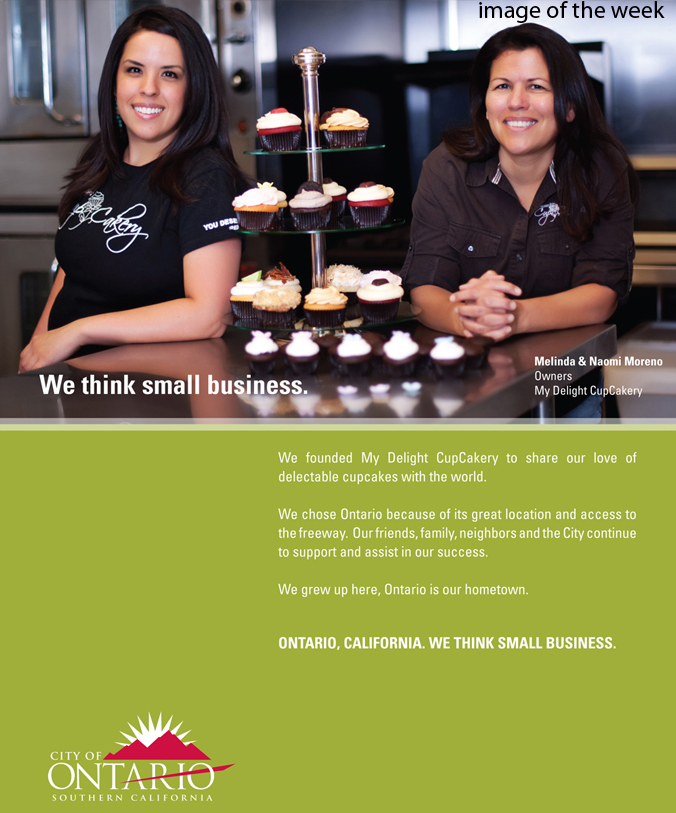 California Executive Editorial Photo Shoot- City of Ontairo, Ad Campaign, My Delight CupCakery, The Spaulding Thompson & Associates, spauldingthompson.com