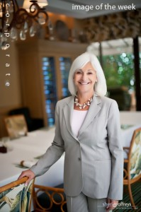 Corporate Executive Portrait - Barbara Eidson, Community Relations Manager, Island Hotel, Newport Beach