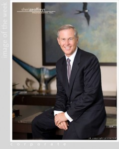 Corporate Executive Portrait - Brandon Birtcher, President and CEO of Birtcher Southwest