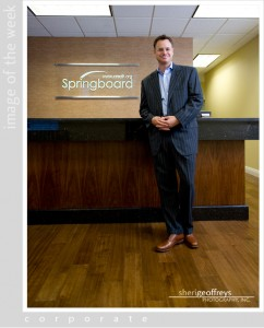 Corporate Executive Portrait - Todd Emerson, CEO, Springboard
