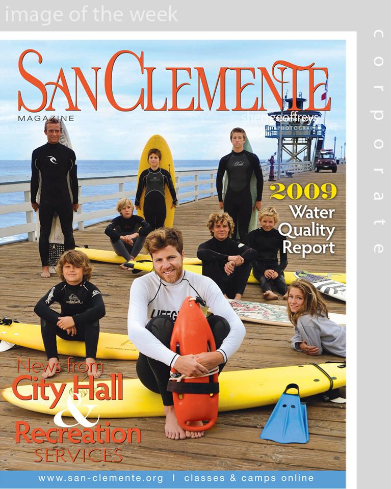 Corporate Business Executive Editorial Photo Shoot - San Clemente Magazine