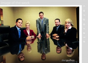 Corporate Business Executive Group Photo Shoot - Todd Emerson, CEO, Springboard
