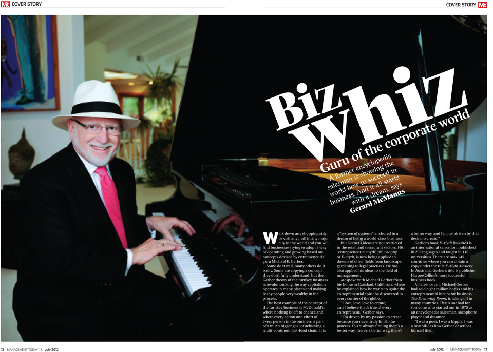 MT Australian Business Magazine - Cover Story - Michael Gerber, Chariman and Co-Founder, www.michaelegerber.com