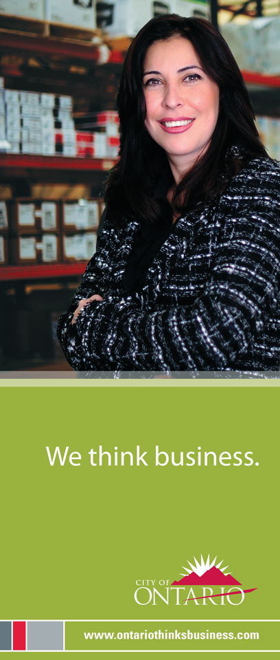 City of Ontario Ad Campaign - Design Firm, The Spaulding Thompson & Associates, spauldingthompson.com,