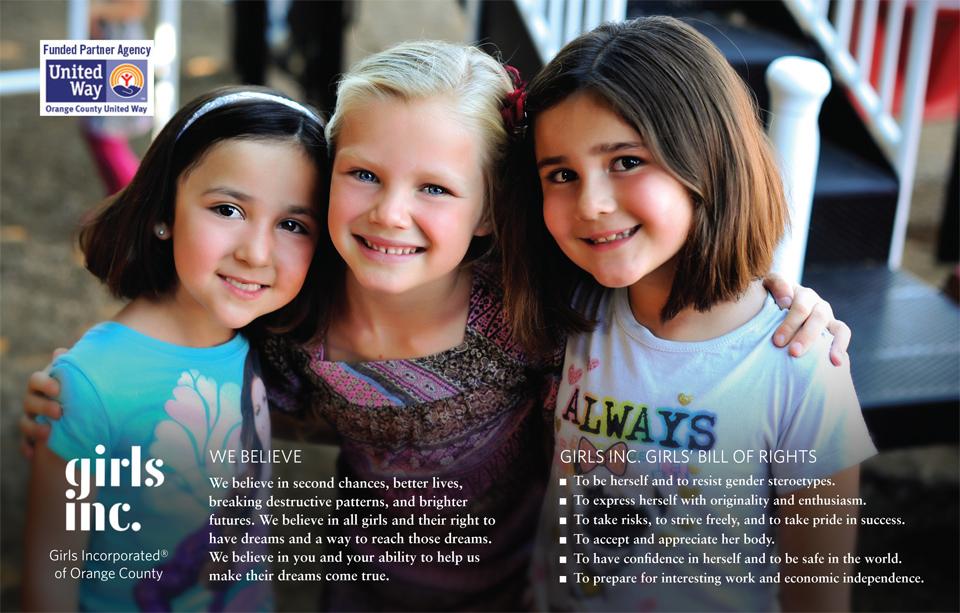 Girls Inc. - Brochure - Editorial Photography
